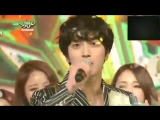 150130 Jung Yonghwa won first place on KBS Music Bank with 'One Fine Day'