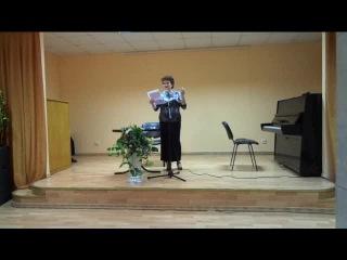 Поёт О. Калантарова. Стихи И. Авакова. Аккомпанирует В. Чирин