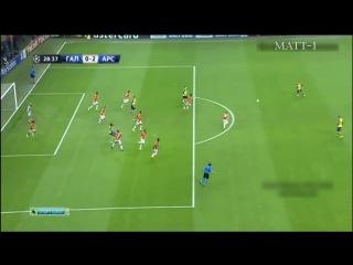 Aaron ramsey goal | galatasaray 1-4 arsenal | by matt-1