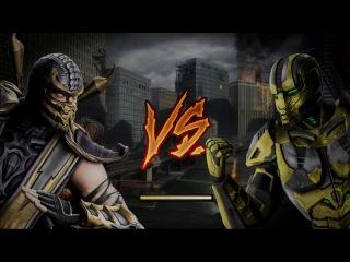 небольшие изменения в скорпионе из Mortal Kombat Komplete Edition