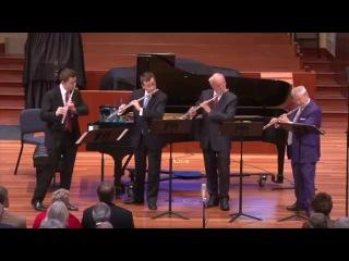 Антонин Рейха - Квартет для 4-х флейт ре мажор, op.12 III. Menuet