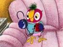 Попугай Кеша слушает музыку Modern Talking - You're My Heart, You're My Soul