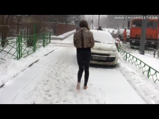 Эротика видео снег, муж и жена ночь секс