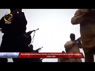 Davudoğlu Amerikanın Suriya və İraq siyasətinə görə geridə qaldığını iddia edib