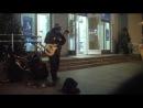 Уличный музыкант в Питере (Электро транс)