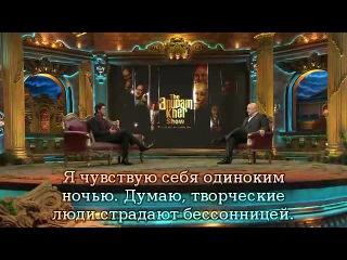 Шах Рукх Кхан - на шоу Анупама Кхер_1 часть (рус.сабы) 2014 год