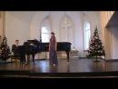 """""""O sole mio"""". Моцарт ария Церлины из оперы """"Дон Жуан"""""""