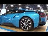 BMW i8 Electric Hybrid Supercar Vision Efficient Dynamics At Miami international auto show 2014