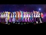 Vocaloid-MMD PV Megurine Luka, Suzune Ring, Nami Utaune, Momo Momone, Merli, Megpoid Gumi, Aoki Lapis, Imoito Defoko (Uta Utane), Miku Hatsune, Kasane Teto, Akita Neru, Yowane Haku, Kagamine Rin, Sakine Meiko, Galaco, Kaihatsu Miki Galaxias!