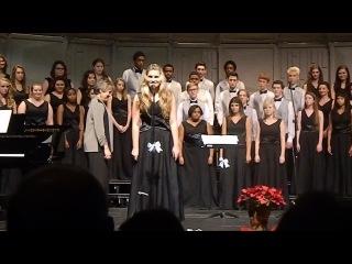 Щедрик - Діана Митулинська - Carol of the bells - Virginia choir