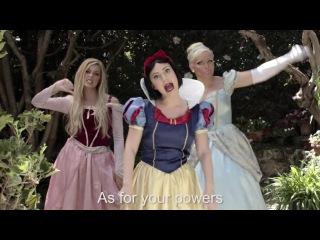 SNOW WHITE vs ELSA: Princess Rap Battle