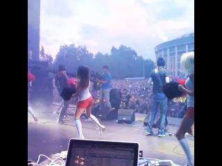 Noize MC на концертной сцене «Рэп – музыки»