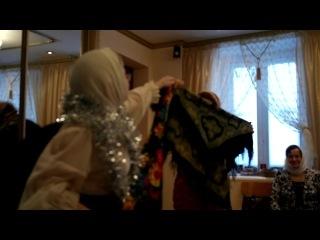 русский танец на празднике рождества
