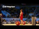 Kianoush Rostami (85kg, Iran) 178kg Snatch Almaty 2014 World Championships