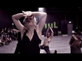"Brian Friedman & Yanis Marshall Heels Choreography  Britney Spears ""Breathe On Me"""