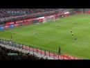 Милан-Ювентус 0-1 1 тайм