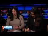 Интервью Шеннен Доэрти и Холли Мари Комбз для Access Hollywood (15 января 2015)