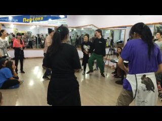 Student battle KRG Bauka Bekziyat vs Mika Arai (w)