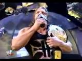 WWF SmackDown! - 21.03.2002 - Мировой Рестлинг на канале СТС - Игрок против Стефани и Криса Джерико