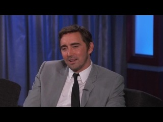 "Lee Pace stopped by ""Jimmy Kimmel Live!"" to promote his latest movie, The Hobbit The Battle of the Five Armies"