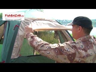 Летняя кемпинговая палатка-шатер «Мансарда»