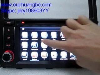 Ouchuangbo PAJERO V97 V93 audio gps radio android 4 2 system