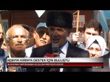 Rusyanın Kırımı İşgali,Kırım Tatar Milli Meclisi ve Kırım Tatar Halkına baskılar.Konyada protesto edildi