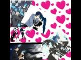 Black Rock Shooter☆ и Синий ЭкзоцирстМато Курои и Рин Окомура