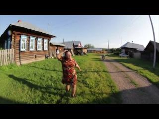 Сельская пародия на песню Hideaway от Бони и Кузьмича