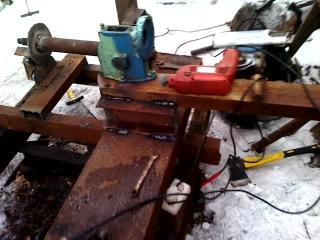 изготовление рамы для обдирки колёс