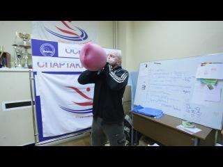 Rubber hot water bottle challenge )) надул грелку