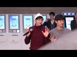 [Фанкам] 141229 2РМ - 10/10 @ JYPE Charity Concert at Samsung Medical Center.