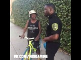 Officer Bobby Johnson pulls over a young criminal (Nigga Vine)