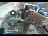 Донбасс. Ополченцы восстанавливают  подбитую технику