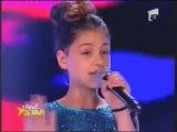 Vanessa Marzavan in duet cu Keo, la Next Star - Just Give Me A Reason