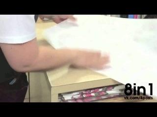 Мастер по заворачиванию упаковки подарков / Gift Wrapping Hack