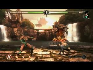 Mortal Kombat Komplete Edition 2 Сразу две сексуальные девушки