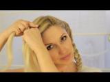 Простая Прическа от Naffy9999 / Плетение косы