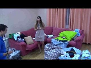 Гобозов ударил Алиану и разбил ноутбук (11.09.2014)
