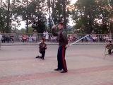 Ой-ся ты ой-ся. Группа Ермак и казаки Воронежа у стен Успенского собора в Витебске