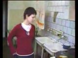 прикол в общаге на кухне