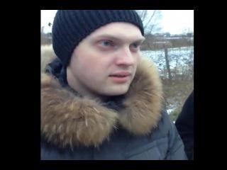 Оккупай педофиляй в Воронеже.Рыжий пидор получает по заслугам.