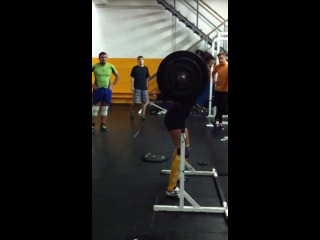 SINGLE SQUAT PR 85kg