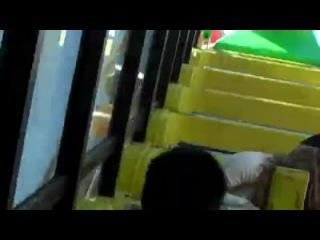 Ариана Гранде и актёры сериала Викториус в парке Santa Monica Pier