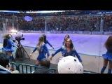 SKA Sisters на матче СКА-Сибирь