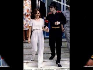 Michael Jackson & Lisa Marie ( Elvis Presley Can't Help Falling in Love )