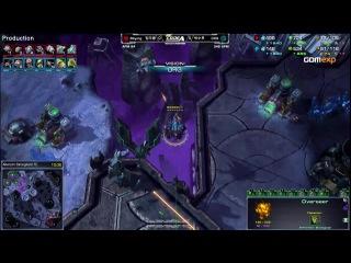 TvZ HotS - CJ.Bbyong vs MVP.DRG - Deadwing