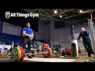 Tom Schwarzbach (85kg, Germany) Clean Pulls Almaty 2014 World Championships