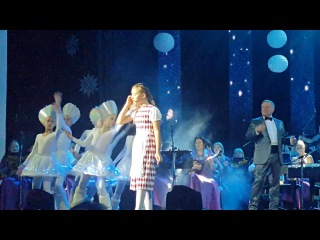 Даяна Кириллова в роли Герды в мюзикле Снежная Королева в Казанской государственной филармонии