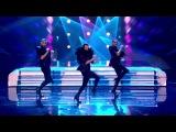 Well heeled dancers Yanis Marshall, Arnaud and Mehdi - Britain's Got Talent 2014
